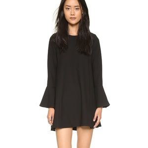 WAYF shopbop flutter sleeve dress